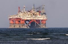 Plataforma de exploração da Petroleos Mexicanos (Pemex) no porto de Veracruz, no México. 07/06/2012 REUTERS/Yahir Ceballos