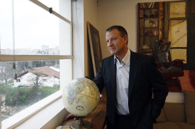 f3d5c5c63fd7b Founder and managing partner of Jerusalem Venture Partners (JVP) Erel  Margalit poses for a photo during an interview with Reuters in Jerusalem in  this ...