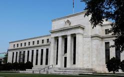 La Reserva Federal estadounidense en Washington, ago 1 2012. La Reserva Federal estadounidense comenzará a publicar un nuevo índice mensual sobre las condiciones del mercado laboral el lunes 6 de octubre, que contempla un rango de datos para ofrecer un mejor panorama sobre la salud de la economía.    REUTERS/Larry Downing