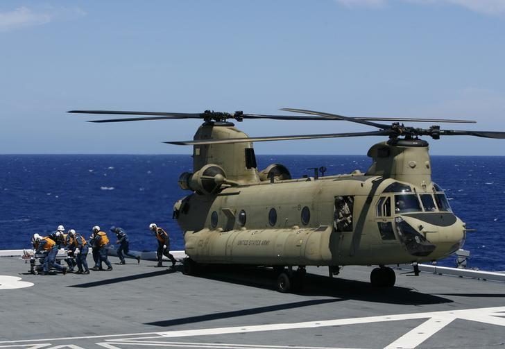 Exclusive - Boeing eyes possible Chinook helicopter sale to