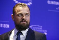 O ator Leonardo DiCaprio durante cerimônia da premiação Clinton Global Citizens, em Nova York, nos Estados Unidos, em setembro. 21/09/2014 REUTERS/Shannon Stapleton