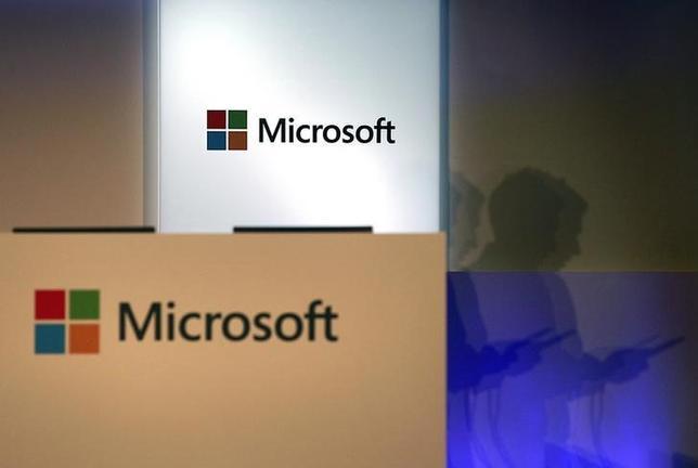 10月19日、米経済誌フォーブスは、米マイクロソフトがスマートウォッチの発売を予定していると報じた、台北で6月撮影(2014年 ロイター/Pichi Chuang)