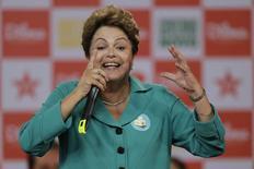Presidente Dilma Rousseff, candidata à reeleição pelo PT, em foto de arquivo em Brasília. 13/10/2014 REUTERS/Ueslei Marcelino