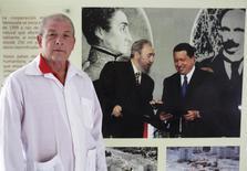Cuban doctor Leonardo Fernandez, 63, who departs tomorrow for Liberia posses for a picture in Havana  October 21, 2014. REUTERS/Enrique De La Osa