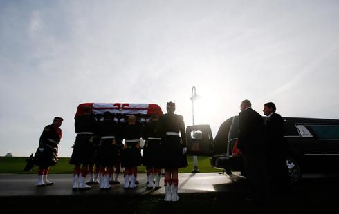 Funeral in Canada