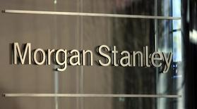 Investment bank Morgan Stanley is pictured in New York City, September 17, 2008.      REUTERS/Mike Segar