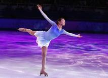 South Korea's Kim Yuna performs during the Figure Skating Gala Exhibition at the 2014 Sochi Winter Olympics February 22, 2014.   REUTERS/Lucy Nicholson