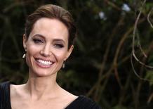 Atriz Angelina Jolie, em foto de arquivo em Londres. 08/05/2014 REUTERS/Luke MacGregor