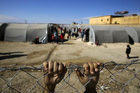 Fleeing Kobani