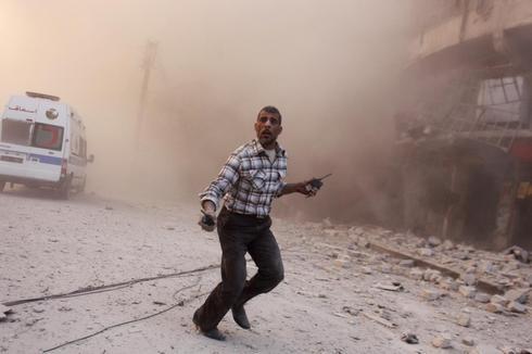 Clashes intensify in Aleppo