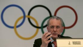 International Olympic Commitee (IOC) president Jacques Rogge of Belgium speaks during a news conference in Buenos Aires September 4, 2013. REUTERS/Enrique Marcarian