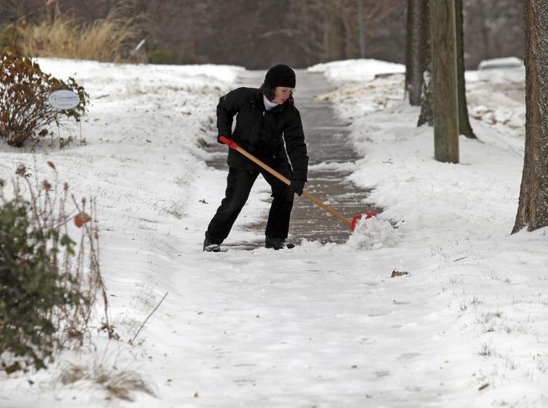Snowfall in Minnesota | Reuters com
