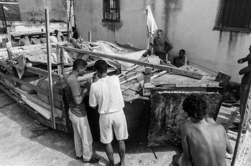 The Cuban raft exodus
