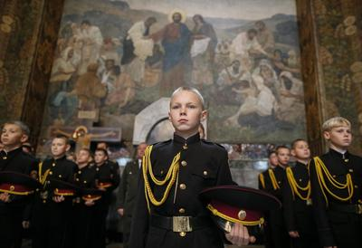 Kiev's young cadets