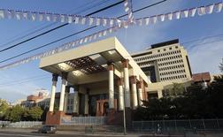 El congreso chileno en Valparaíso, sep 24 2014. El Congreso chileno aprobó el jueves el proyecto de Presupuesto del 2015, que contempla un alza del gasto público del 9,8 por ciento para mejorar la educación y reactivar una economía que se expandirá este año a su menor ritmo del último quinquenio.   REUTERS/Eliseo Fernandez