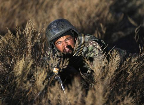 Training the Afghan National Army