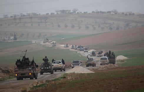 Nusra Front territory