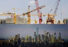 L'activité dans le secteur manufacturier chinois s'est contractée en décembre pour la première fois depuis sept mois, à la faveur d'une baisse des prises de commandes, selon l'indice PMI des directeurs d'achat de HSBC/Markit publié en première indication. /Photo prise le 16  décembre 2014/REUTERS/Kim Kyung-Hoon
