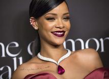 Cantora Rihanna durante evento em Beverly Hills. 11/12/2014.   REUTERS/Mario Anzuoni