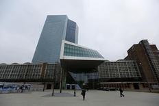 PeopleSede do Banco Central Europeu (BCE) em Frankfurt. REUTERS/Kai Pfaffenbach (GERMANY  - Tags: BUSINESS)