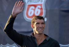Nadador norte-americano Michael Phelps durante campeonato nacional de natação dos EUA. 11/08/2014 REUTERS/Kirby Lee-USA TODAY Sports