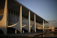 Vista do Palácio do Planalto em Brasília. 28/04/2014 REUTERS/Ueslei Marcelino