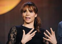 """Actress Carmen Ejogo takes part in a panel discussion of ABC's new series """"Zero Hour"""" during the 2013 Winter Press Tour for the Television Critics Association in Pasadena, California, January 10, 2013. REUTERS/Gus Ruelas"""