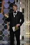 """Diretor Richard Linklater recebe Globo de Ouro de melhor diretor por """"Boyhood"""". 11/01/2015 REUTERS/Paul Drinkwater/NBC/Divulgação"""