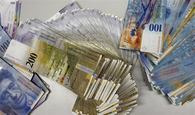 Swiss Franc Jumps 30 Percent After National Bank Dumps Euro Ceiling
