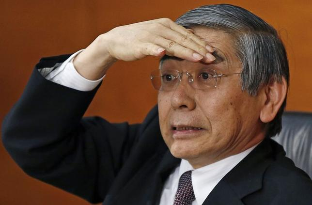 原油・商品市況下落でも2%達成必要、必要なら追加緩和=黒田日銀総裁