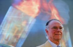 Presidente do Comitê Rio 2016 Carlos Arthur Nuzman no evento de lançamento do revezamento da tocha olímpica no Rio de Janeiro. 29/01/2015 REUTERS/Sergio Moraes