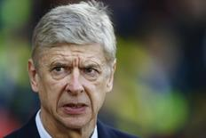 Técnico do Arsenal, Arsene Wenger. 01/01/2015  REUTERS/Andrew Winning