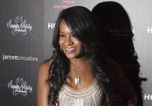 """Bobbi Kristina Brown attends the opening night of """"The Houstons: On Our Own"""" in New York, in this file photo taken October 22, 2012. REUTERS/Andrew Kelly/Files"""
