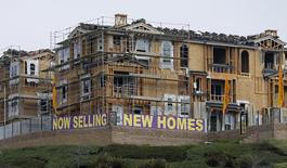 A general view of new houses which are construction and for sale in San Marcos, California October 25, 2013. REUTERS/Mike Blake