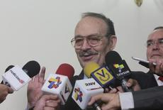 Presidente da Odepa, Vázquez Raña concede entrevista em Caracas. 01/05/2013. REUTERS/Divulgação