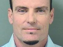 Singer Vanilla Ice, whose real name is Robert Van Winkle, is seen in an undated picture from the Palm Beach County Sheriff's Office in West Palm Beach, Florida.  REUTERS/Palm Beach County Sheriff's Office/Handout