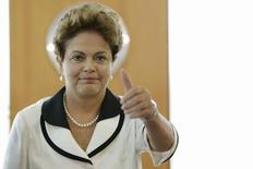 Presidente Dilma Rousseff, no Palácio do Planalto. 13/22015 REUTERS/Ueslei Marcelino