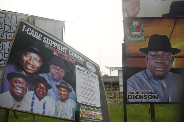Dickson campaign billboards