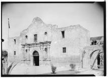 The Alamo, San Antonio, Texas, April 8, 1936. REUTERS/Arthur W. Stewart/Library of Congress