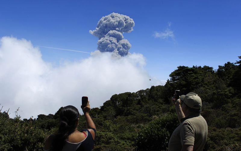 Costa Rica Volcano Spews Ash In Most Powerful Eruption 20 Years