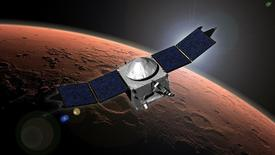 NASA's Mars Atmosphere and Volatile Evolution (MAVEN) mission is seen in this undated artist's concept released September 22, 2014.  REUTERS/NASA/Goddard Space Flight Center/Handout via Reuters