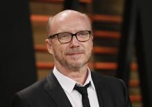 O diretor Paul Haggis  chega a uma festa em West Hollywood, na Califórnia, no início de março. 02/03/2014 REUTERS/Danny Moloshok