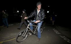 British television presenter Jeremy Clarkson leaves his home in west London March 25, 2015.   REUTERS/Suzanne Plunkett