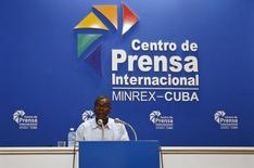 Autoridade do Ministério das Relações Exteriores de Cuba Pedro Luis Pedroso concede entrevista. 26/03/2015.  REUTERS/Stringer