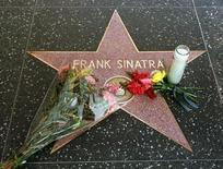 Estrela de Frank Sinatra na Calçada da Fama de Hollywood, em foto de arquivo. REUTERS/Fred Prouser