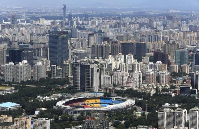 图为北京的楼群。REUTERS/Jason Lee