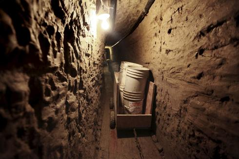 Drug tunnels of Mexico