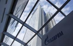 Штаб-квартира Газпрома в Москве 29 июня 2012 года. Газпром хочет разрабатывать новые нефтегазовые месторождения в Боливии, сообщил госконцерн в четверг. REUTERS/Maxim Shemetov