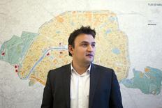 Vice-prefeito de Paris, Jean-François Martins, durante entrevista à Reuters.  08/04/2015  REUTERS/Charles Platiau