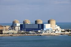 Veolia a annoncé mardi avoir remporté le contrat de traitement des eaux d'alimentation du plus important site nucléaire de Corée du Sud, Kori Division, pendant trois ans. /Photo d'archives/REUTERS/Kori Nuclear Power Plant